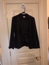 cute 100% Polyester black cover up jacket in Fort Hood, Texas