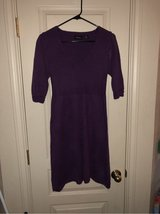 nice purple sweater dress sz. M in Fort Hood, Texas