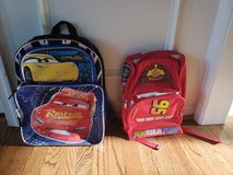 Cars book bags (2) in Fort Belvoir, Virginia