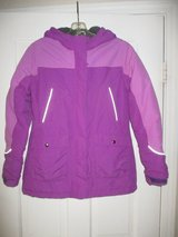 Girls Lands End Squall Purple Jacket Size L in Westmont, Illinois