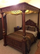 Queen Canopy Bed (Bed Only) in Kingwood, Texas