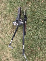 Weight distribution hitch and sway control bar in Kingwood, Texas