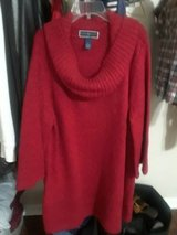 Red women tunic in Spring, Texas