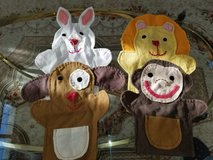 Four Unique Handcrafted Animal Puppets in Oswego, Illinois