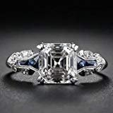 ***BRAND NEW***2.45 White Topaz Vintage Engagement Ring*** in Kingwood, Texas