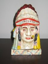 Vintage Cast Iron Painted Tobacco Store Indian Head Bank. in Naperville, Illinois