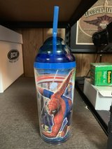 Spiderman 2 drinking cup with straw in Algonquin, Illinois