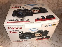 Canon - EOS Rebel T6 DSLR Camera with EF-S 18-55mm IS II and EF 75-300mm Black in Kingwood, Texas