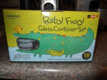 BABY FOOD GLASS CONTAINERS   new in box in Cherry Point, North Carolina