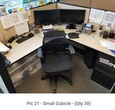 Small cubicles in St. Charles, Illinois