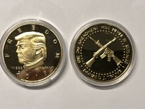 Trump 2nd Amenment Coin in Fort Knox, Kentucky