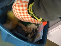 two totes Full of Easter goodies in 29 Palms, California