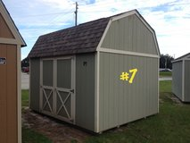 10x12 Lofted Barn Storage Shed Building REDUCED!! in Moody AFB, Georgia