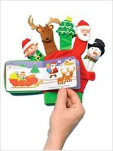 Merry Christmas: A Hand-Puppet Board Book by Scholastic, Author is LIly Karr and Jason Fruchter ... in Oswego, Illinois