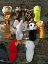 10 Finger Puppets In New Condition in Plainfield, Illinois