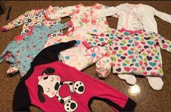 Pajamas size 6-9 month all for $10 in Alamogordo, New Mexico