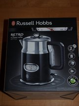 NEW Russell Hobbs Retro Style Electric Kettle (1.7L) Black in Wiesbaden, GE