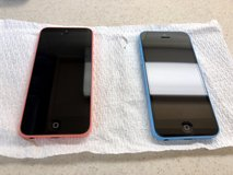 2 iPhone 5c's (AU)-blue sold in Okinawa, Japan