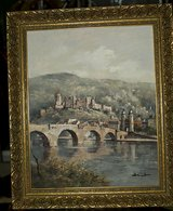 Heidelberg oil painting in Spangdahlem, Germany