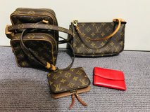 Authentic Louis Vuitton Bags and Wallet in Okinawa, Japan