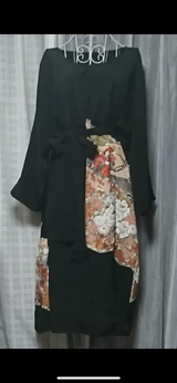 kimono dress in Okinawa, Japan