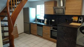 TLA 1 BR Apt, Mackenbach, 5min from RAB, duplex, Air-Con in Ramstein, Germany