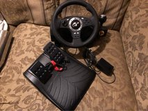 Logitech Driving Force Pro  for PS2 and PC in The Woodlands, Texas