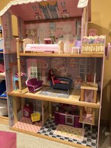Barbie three story house with accessories in EXCELLENT condition in Naperville, Illinois