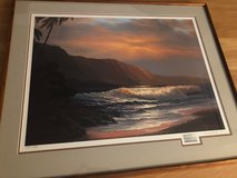 A Summer Days Glow- Roy Tabora Signed Limited Artist Proof in Pearl Harbor, Hawaii
