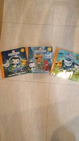 Octonauts 3book set in Okinawa, Japan