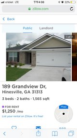 Home for rent in Hinesville, Georgia