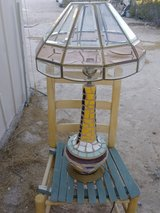 Old levington lamp in Yucca Valley, California