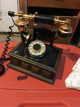 vintage replica rotary dial phone in Spring, Texas