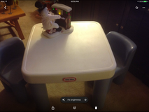 Little Tykes Child Table and Chair Set in Naperville, Illinois