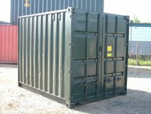 """10ft x 8ft x 8ft 6"""" (approx.) New Build Shipping / Storage Container - Dimensions & weights in Camp Humphreys, South Korea"""