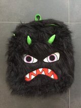 new funny and fluffy monster backpack in Ramstein, Germany