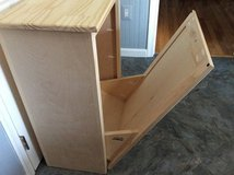 Wood tip-out trash bin - NEW in Fort Belvoir, Virginia