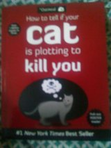 How to tell if your cat is plotting to kill you book in Camp Lejeune, North Carolina