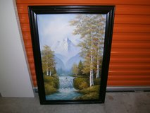 Mountain Painting in Bellaire, Texas