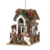 Fishing Pier Birdhouse in Tacoma, Washington