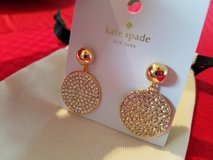 Beautiful NEW Kate Spade earrings in Lockport, Illinois