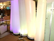 Color Changing LED Columns in Fort Lewis, Washington