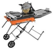 New RIDGID 4092 The Beast 10 in. Wet saw w/ stand in Lockport, Illinois