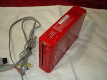 nitendo wii console red only in Vacaville, California