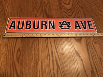 AUBURN tin sign in Fort Rucker, Alabama