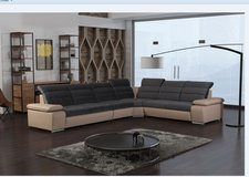 Venis Sectional #3 - can be set up reversed -available in other colors - price includes delivery in Shape, Belgium