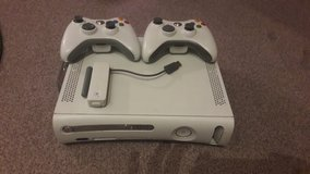 XBOX 360  w/2 controllers and Wifi module (220V) in Stuttgart, GE