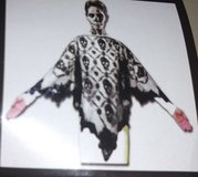 Skull lace poncho in The Woodlands, Texas