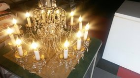 Large chandelier stunning. in Yucca Valley, California