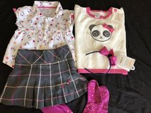 Gymboree panda academy outfit  ( 6pcs) size 3/4 in 29 Palms, California